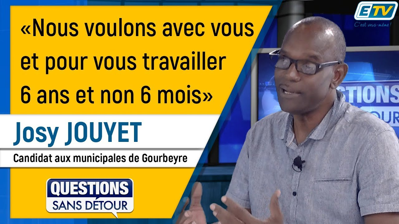 Questions Sans Détour avec Josy JOUYET
