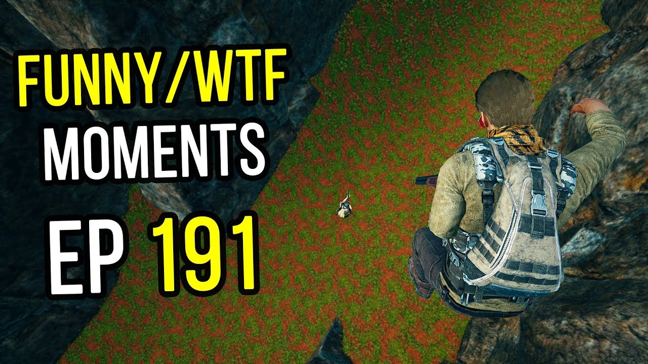 PUBG: Funny & WTF Moments Ep. 191
