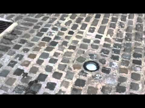 Granite Paving / Slieve Bloom Cobbles / Ground Lighting