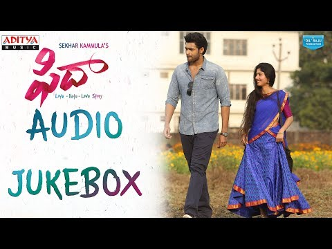 Fidaa Full Songs Jukebox  Fidaa Songs  Varun Tej, Sai Pallavi  Sekhar Kammula