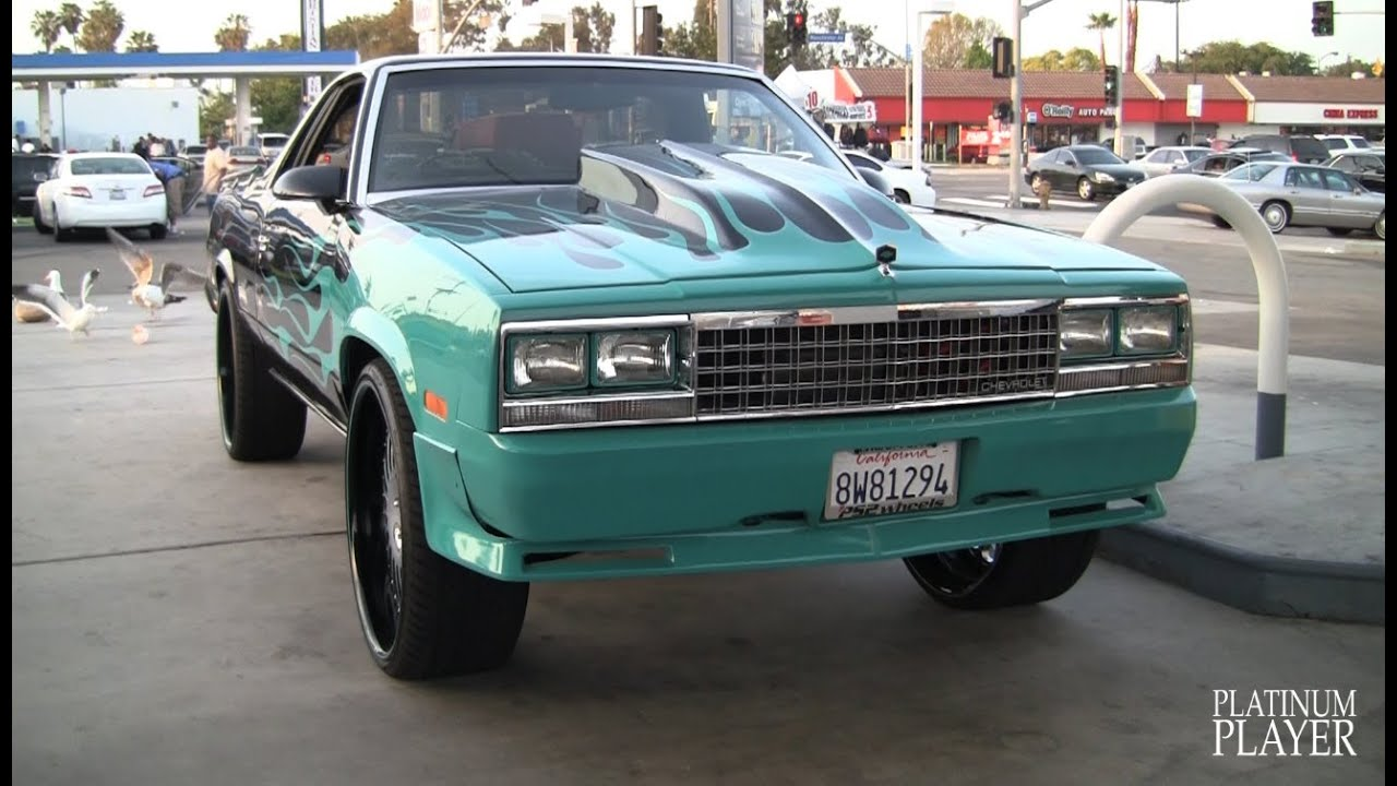 Cars For Less >> EL CAMINO on 24 INCH ASANTI AF122- LOS ANGELES - YouTube