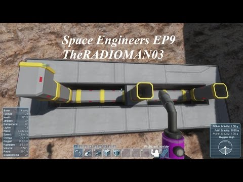 "Space Engineers EP9 ""Connectors and Tubes"""