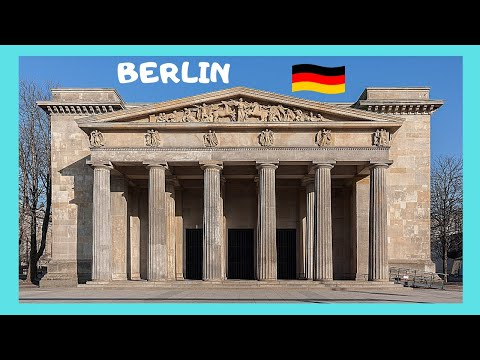 The historic Neue Wache (New Guardhouse) Memorial, Berlin (Germany)