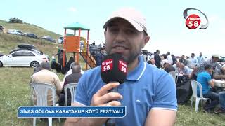 SİVAS GÖLOVA KARAYAKUP KÖYÜ FESTİVALİ VİZYON 58 TV