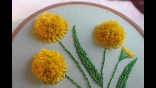 Desenhos De Bordados À Mão – Belo design de flores