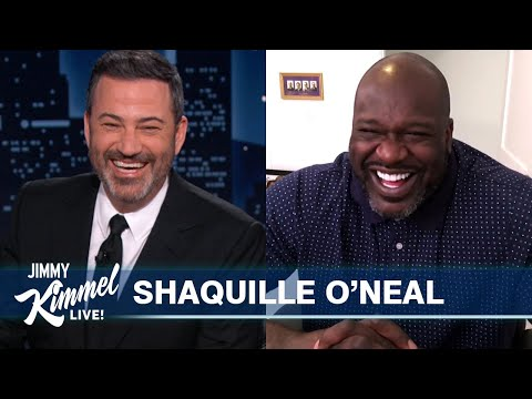 Shaq on Kobe's Hall of Fame Induction, Seeing a UFO & Most Expensive Thing He Ever Bought a Stranger