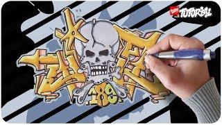 Graffiti Tutorial - Joe Funky Style Schritt für Schritt