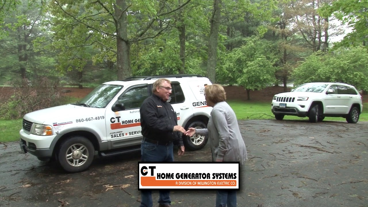 Ct Generator Electric Alt Storm Woman Ed On Cam At End