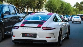 Best of Porsche accelerations & sounds 2016