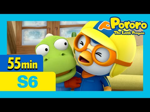 Pororo the great pretender and more (55mins) | Pororo the Little penguin | Season 6