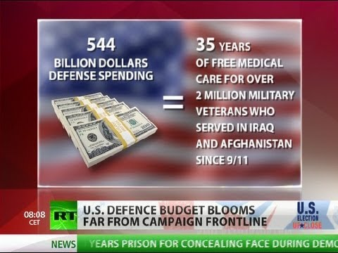 Killing Machine: US defense budget blooms far from race frontline