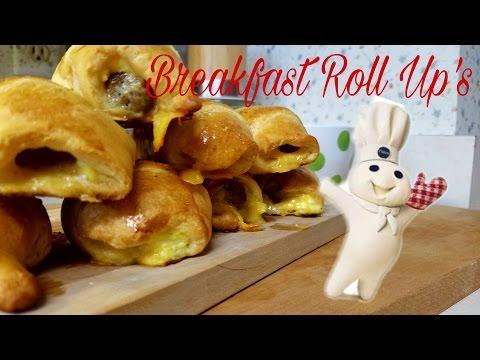 Breakfast Roll Up's   Pillsbury Style!