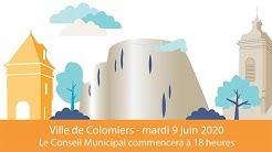 Conseil Municipal de la Ville de Colomiers - 9 juin 2020