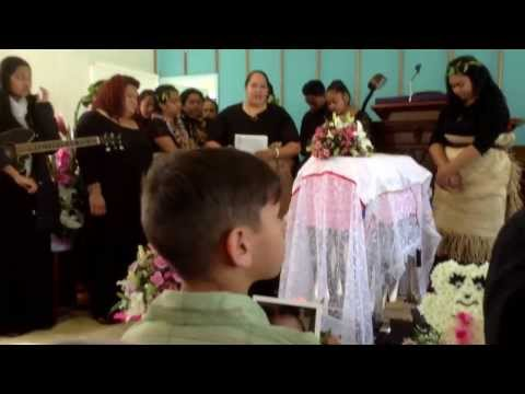 Eulogy and songs for our niece LillyAnna Patisepa Bateman