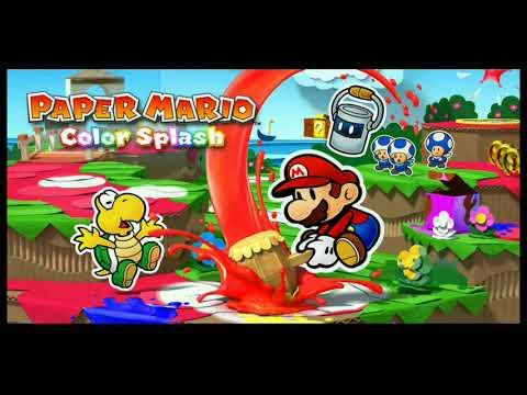 Paper Mario Color Splash Full Soundtrack