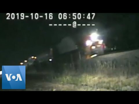 As Heard On The Monsters - AT THE LAST SECOND: Officer saves man from a speeding oncoming train!