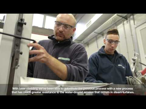 Praxair Surface Technologies helps industrial gas turbine operators generate results