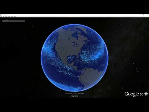 Garbage Patch - Google Earth