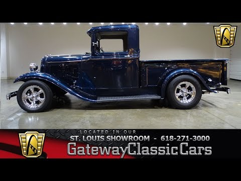 1934 Ford Pickup Stock #7471 Gateway Classic Cars St. Louis Showroom
