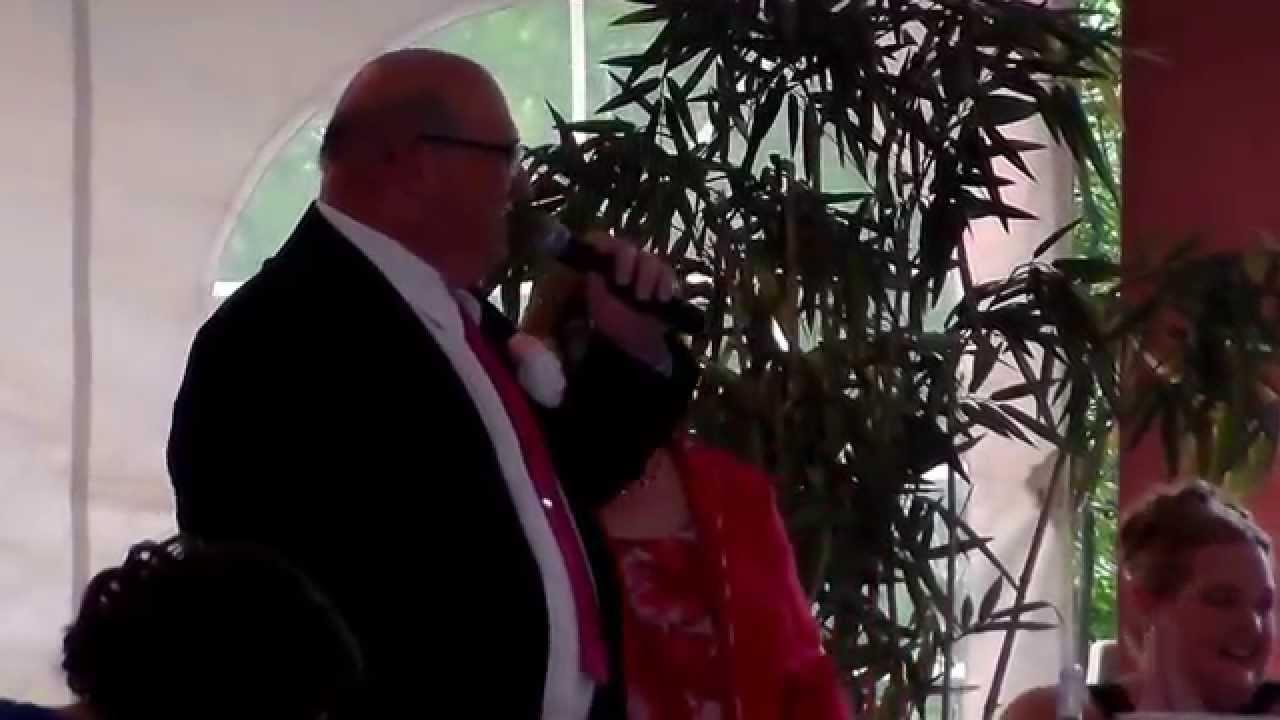 Father of the groom wedding toasts - John Lobianco S Father Of The Groom Wedding Toast 7 26 14
