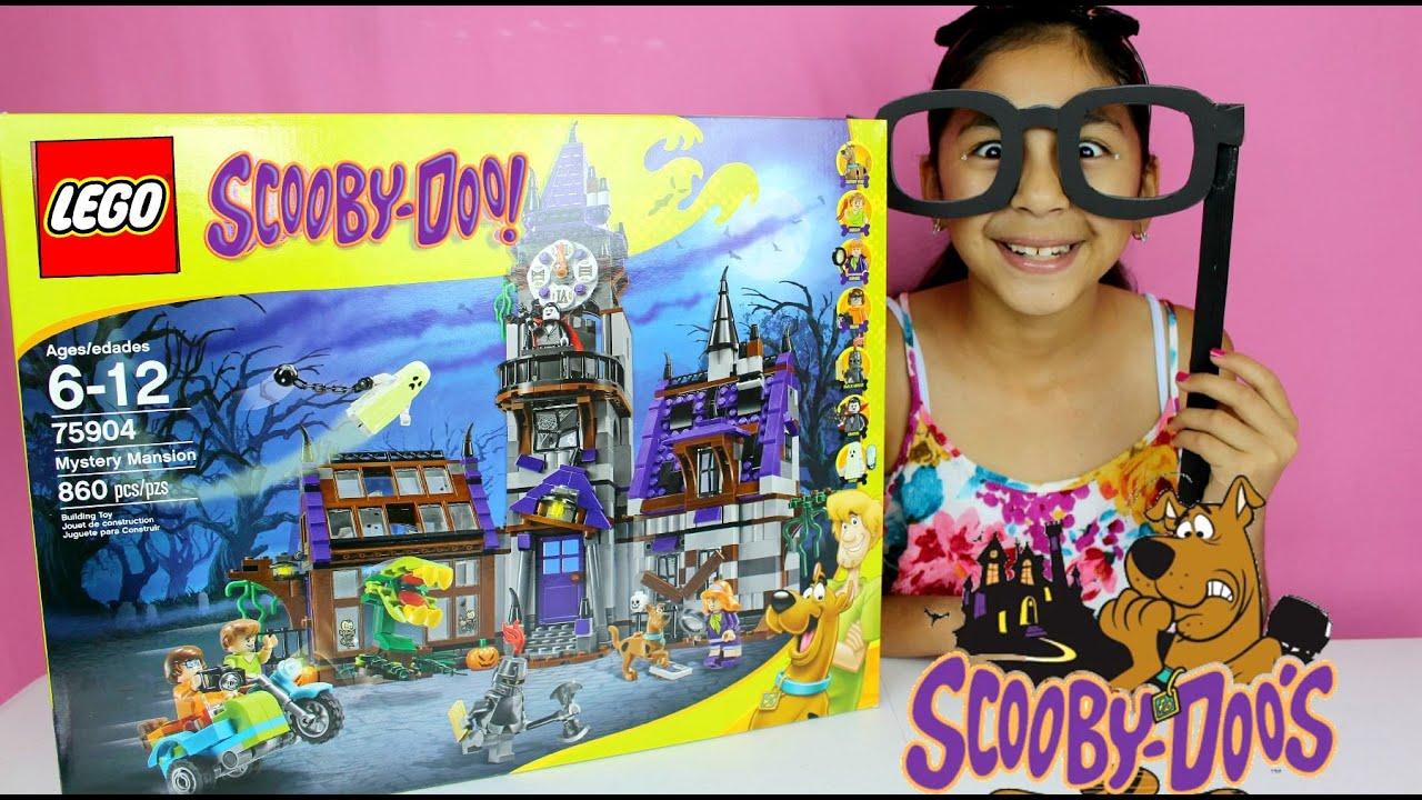 Lego Toylegoscoobydoo B2cutecupcakes Scooby Unboxing Building Mansion DooMystery wON8Xkn0P