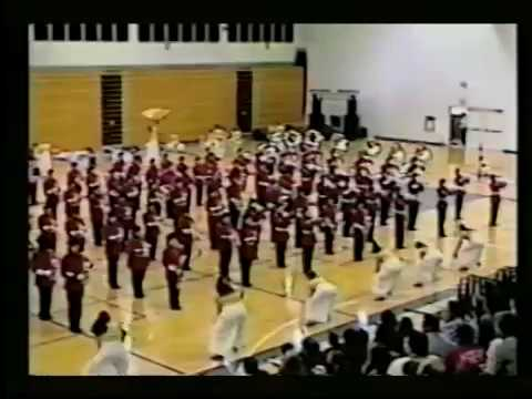 Vista High School Regimental Band and Paqeantry Corps - Gloria! 1999 (at Kamehameha HS Field House)