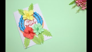 Unique Birthday Cards | Congratulation Card | Beautiful Birthday Cards | Do It Yourself Crafts
