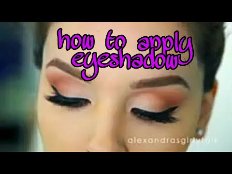 How to Apply Eyeshadow PERFECTLY beginner friendly hacks144p
