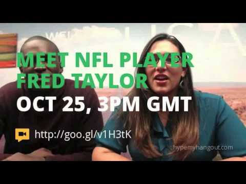 Live from London: Hangout with NFL Player Fred Taylor