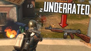 THE MOST UNDERRATED GUN IN THE GAME! Rules of Survival Gameplay (iOS/Android/PC)