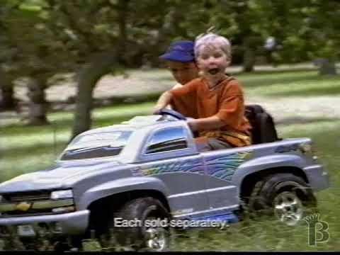 Power Wheels Chevy Silverado Commercial 2001