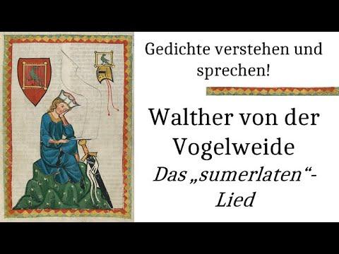 Walther Von Der Vogelweide Lange Swigen Sumerlaten Lied Gedichte Karaoke 82