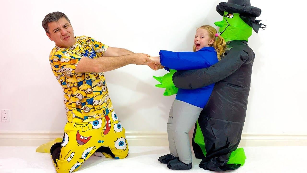 Download Nastya und Papas lustige Geschichte über Schluckauf