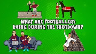 What are footballers doing during the shutdown? ft. Messi, Ronaldo & more! ► Onefootball x 442oons