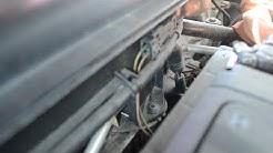 How to remove install windshield wiper cowl panel, Porsche 996, 986, 987, 997