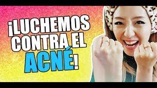 ¡7 tips para combatir el ACNÉ! + Productos coreanos para el acné - JiniChannel