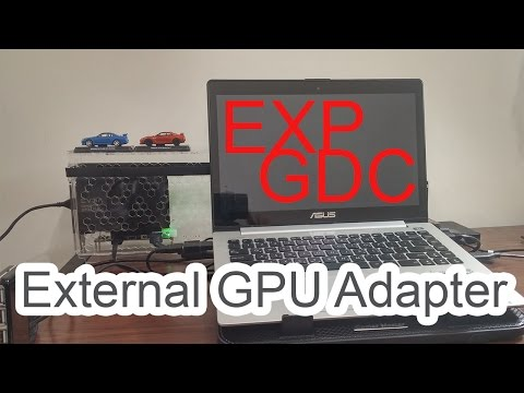 EXP GDC Beast 8.4d External GPU Adapter (Mini-PCI-E)