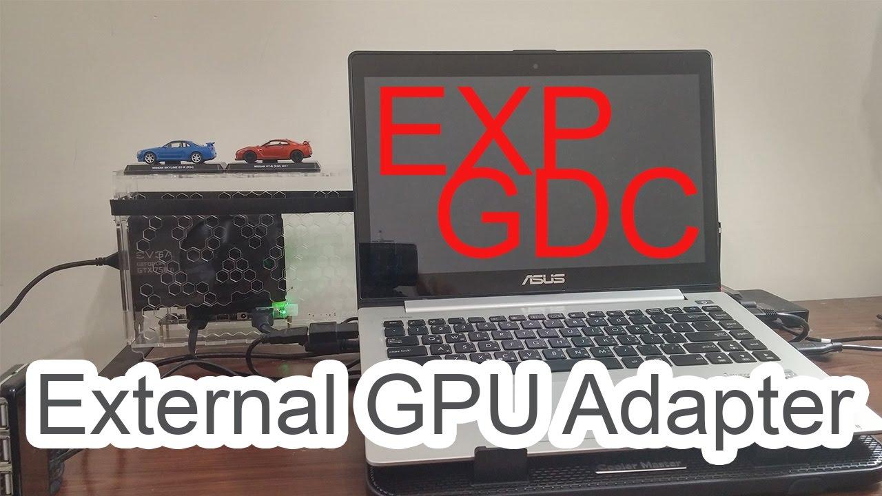 Exp Gdc Beast 8 4d External Gpu Adapter Mini Pci E Youtube