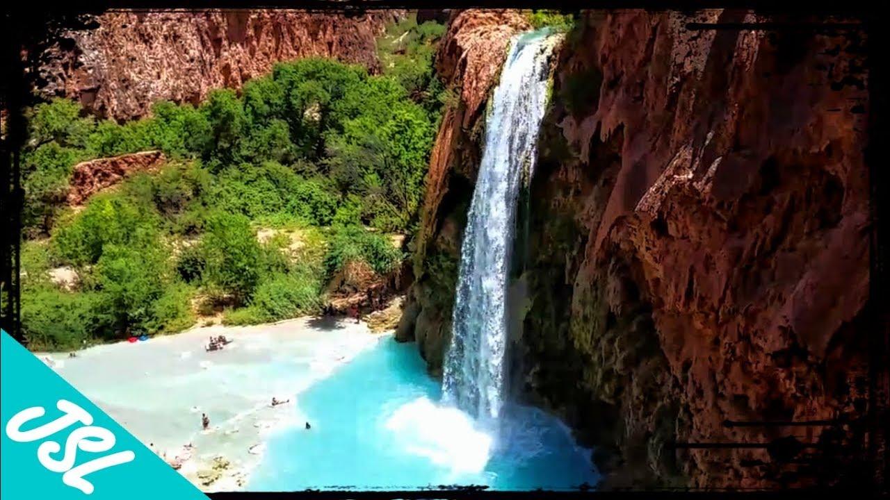Hiking In To Havasu Falls Amazing Havasupai Waterfall Adventure