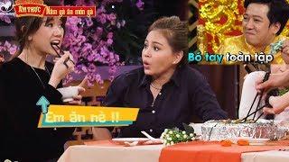 """Hari won siêu ham ăn """"BẤT CHẤP"""" Trường Giang, Lê Giang NGĂN CẢN"""