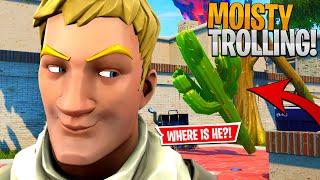 PROP TROLLING in Moisty Palms! - Fortnite Stream Highlights