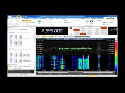 Radio Sakha Yakutia via SDR Novosibirsk 11:50 UTC on 7345 Kh