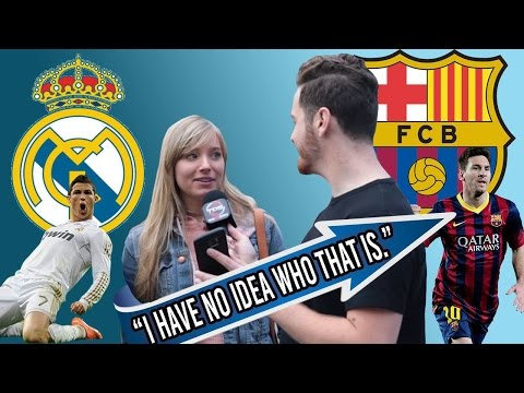 Watch Americans Try and FAIL to Name Europe's Biggest Football (Soccer) Stars and Teams