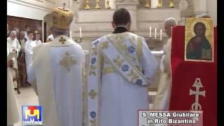 Santa Messa giubilare in Rito Bizantino Chiesa S. Domenico Acquaviva 07 05 17