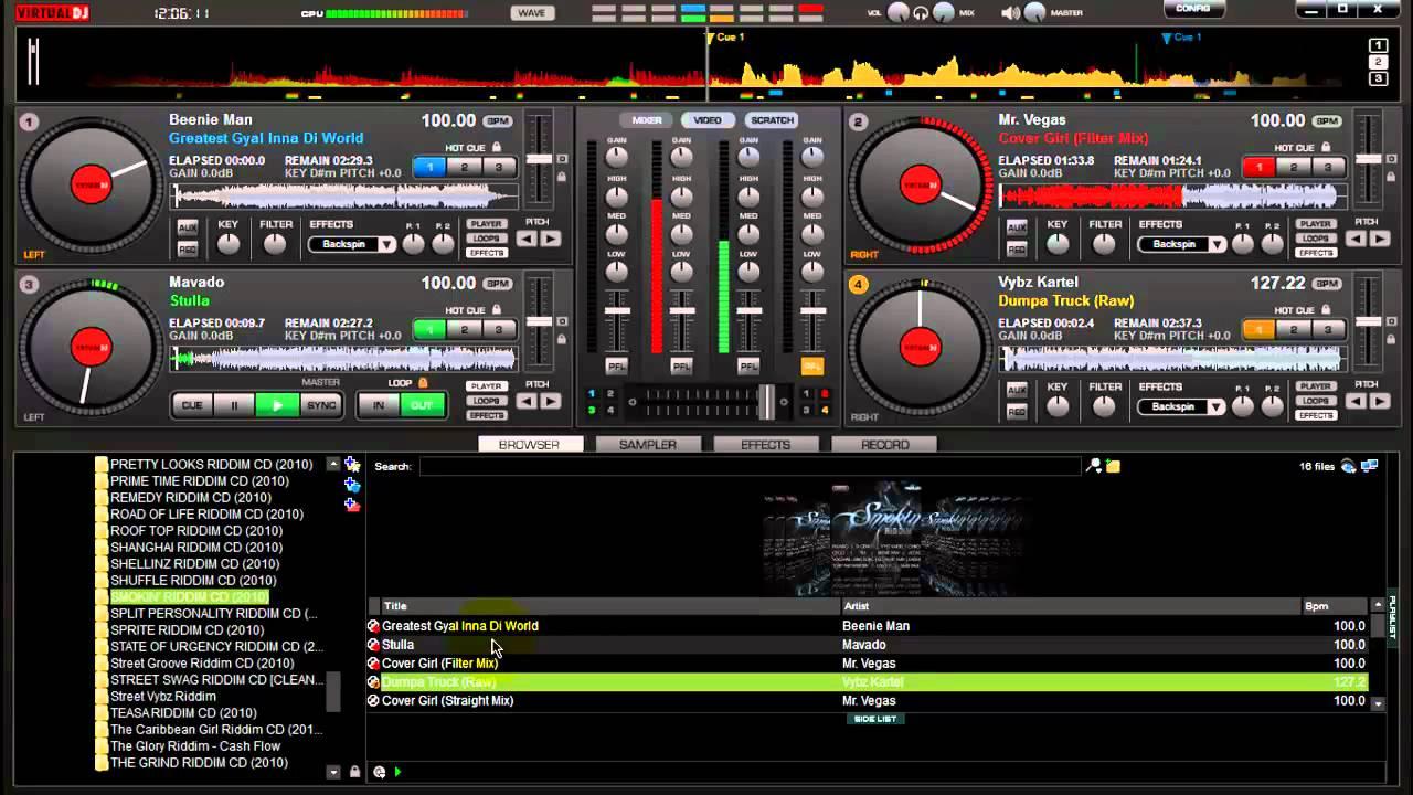 Virtual DJ Pro 7 Review - YouTube