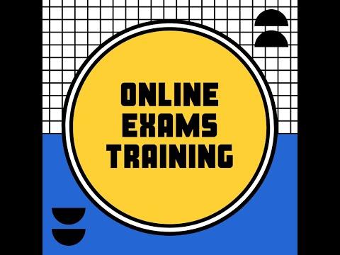 Online Exams Walk Through For The Podar International School Students.