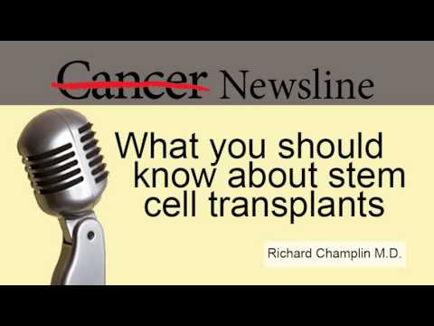 stem cell transplants