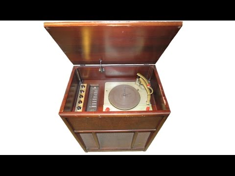 1956 Montgomery Ward Airline Radio & Record Changer [PART 2]