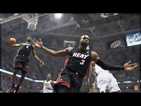 LeBron James: Top 10 Alley Oop Dunks from Wade