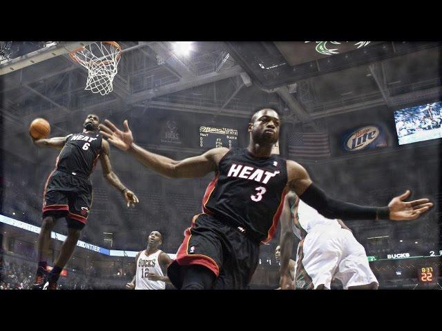 LeBron James: Top 10 Alley Oop Dunks